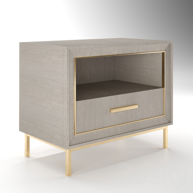 Monarch Kendall Drawer Nightstand