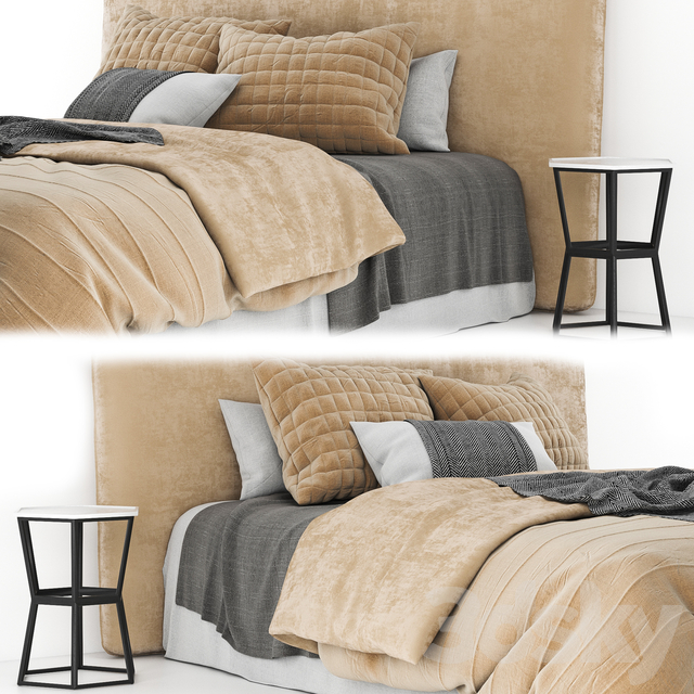 Linen bed 02