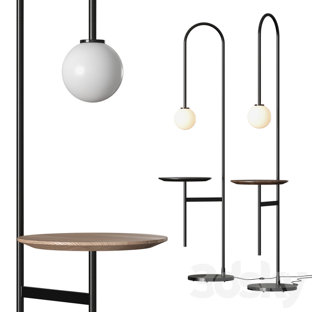 Living Divani Light with a Table Floor Lamp