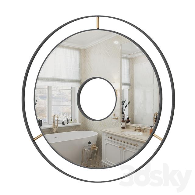 Laskasas tanny mirror