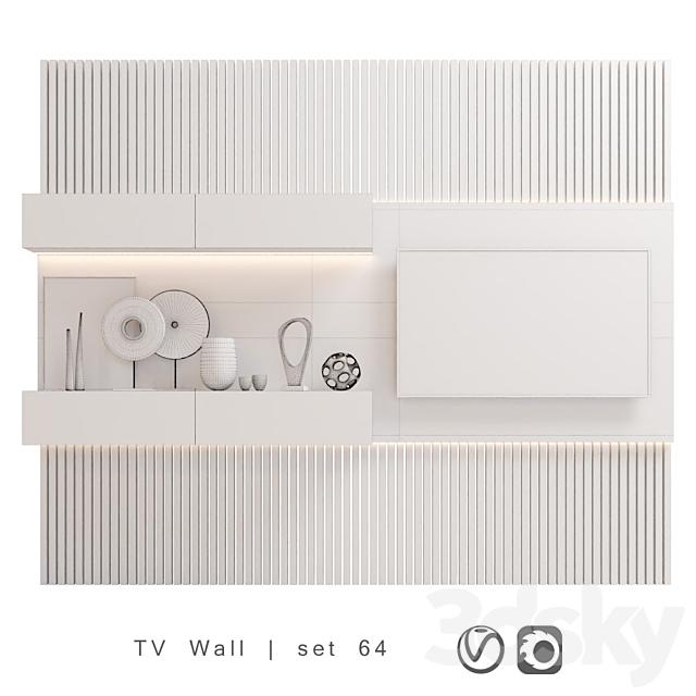 TV Wall   set 64