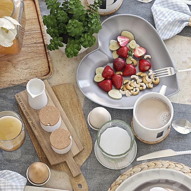 Table setting 38. Breakfast - 5
