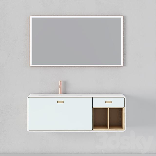 Modern Bathroom Cabinet | No. 069