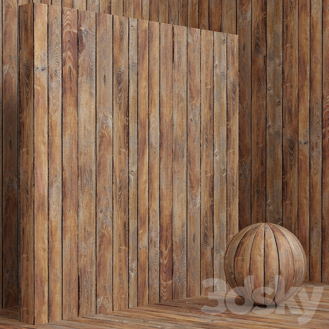 Wood / plank material (seamless) - set 91