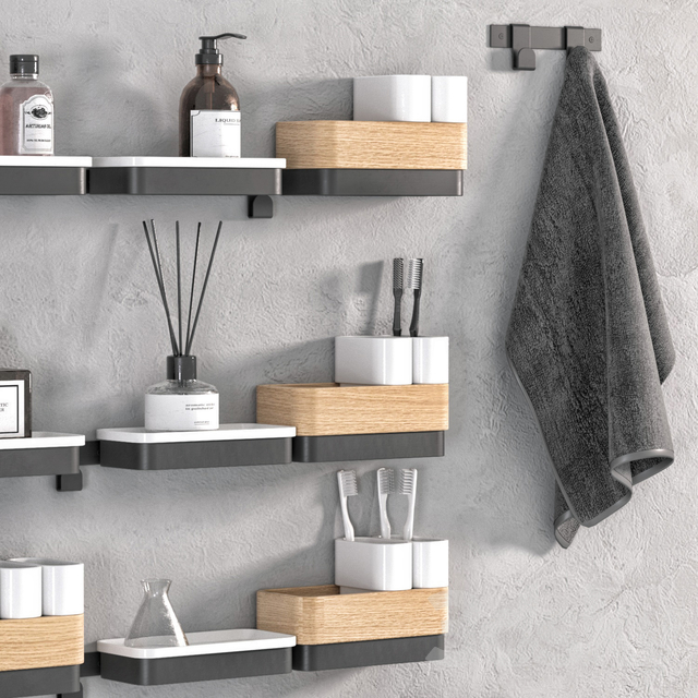 ROW Bathroom accessories by Ex.t