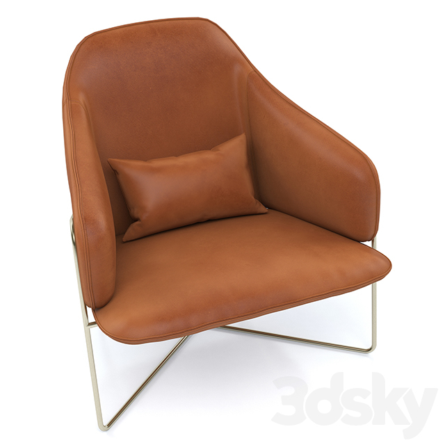 Armchair Made Stanley Accent