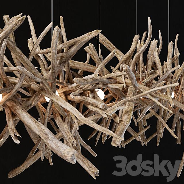 Branch decor lamp n2 / Branch lamp