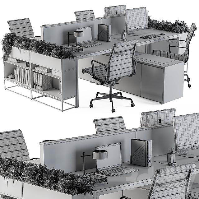 Office Furniture Flower Box 03
