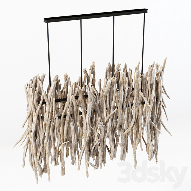 Branch decor lamp n4 / Branch chandelier