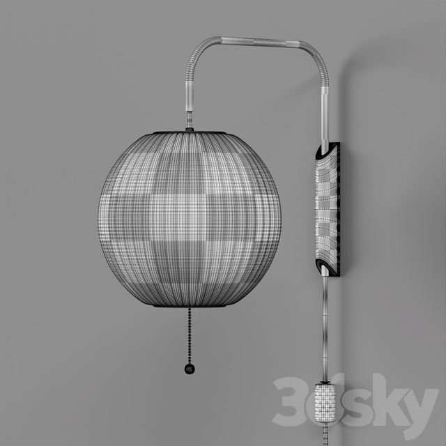 Nelson Bubble Wall Sconce Cabled Collection