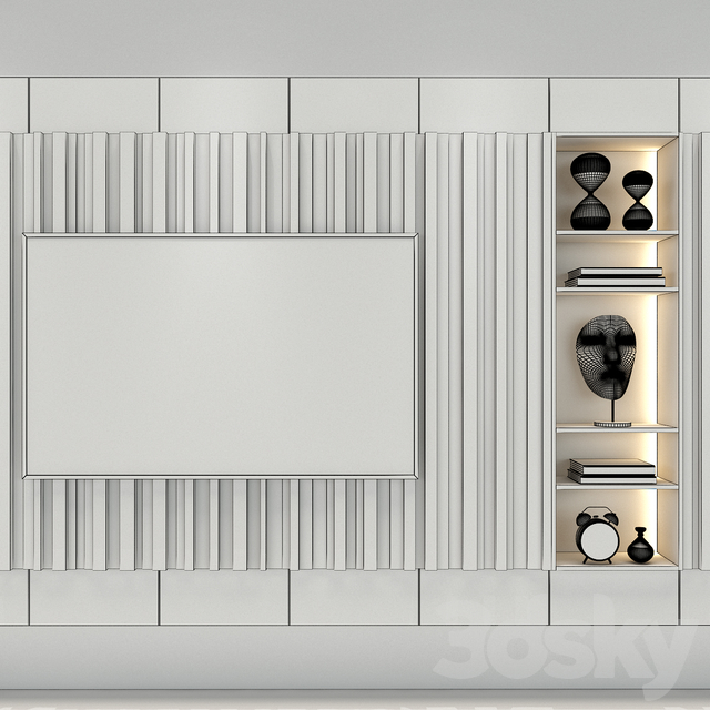 TV Wall set 50