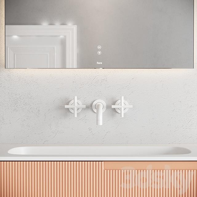 Fiora synergy vanity unit set 3
