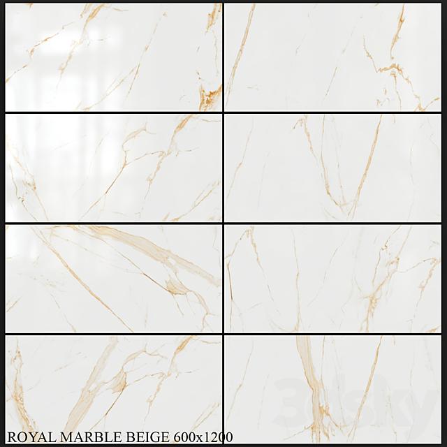 Yurtbay Seramik Royal Marble Beige 600x1200