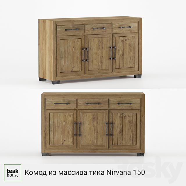 Solid teak sideboard Nirvana 150