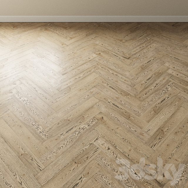 Parquet oak Coswick. Inspire ANTIQUE PATINA gray