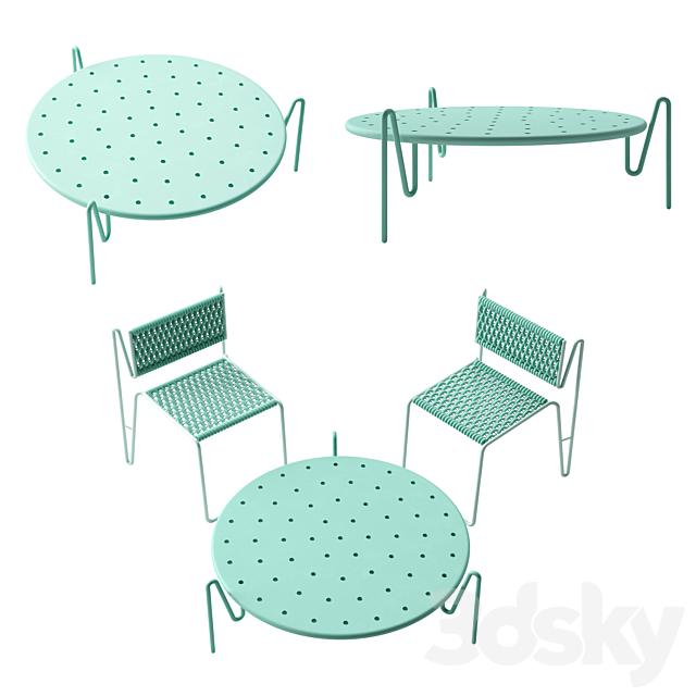 Piega Chair & Table