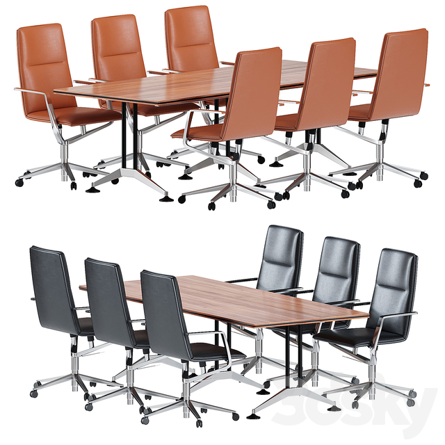 Wilkhahn logon table & sola chair