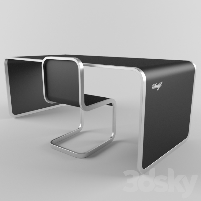 Table and chair Davidoff