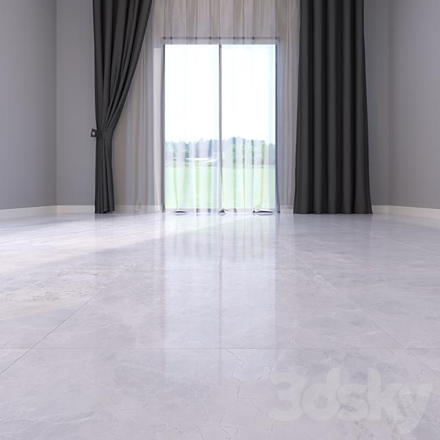 Marble Floor Alpha Bianco