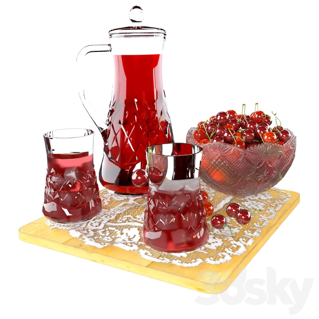 Crystal Cherries and Cherry Juice
