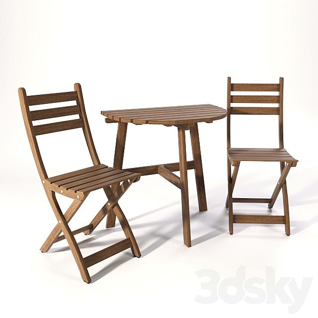 Set of garden furniture ASKHOLMEN IKEA