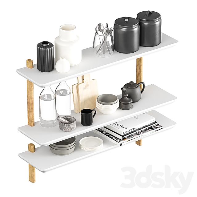Kitchenware with decor