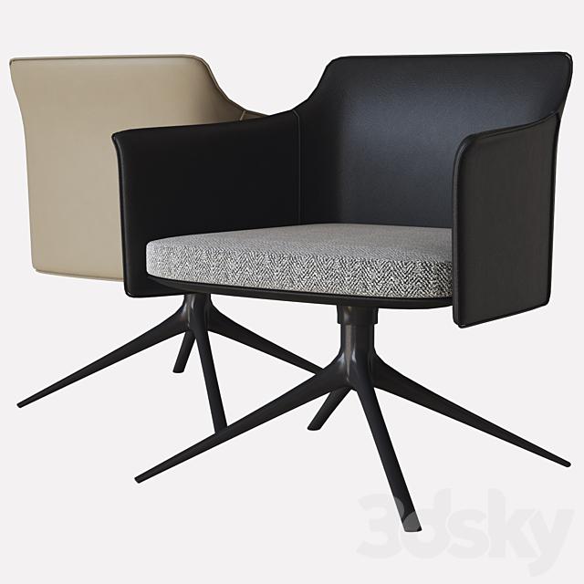 Stanford Lounge Armchair Poliform