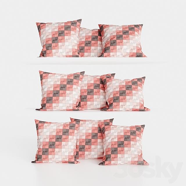 H&M Home Cotton Velvet Pillows