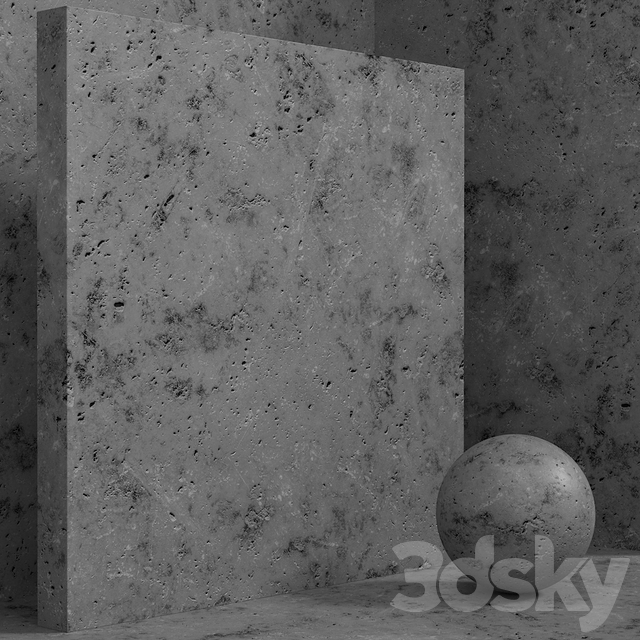 Material (seamless) - concrete plaster set 146
