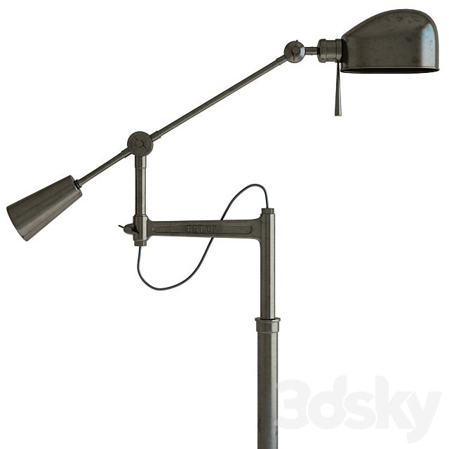 Ralf Lauren '67 Boom Arm Floor Lamp