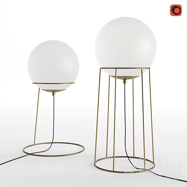Hubsch Floor lamp