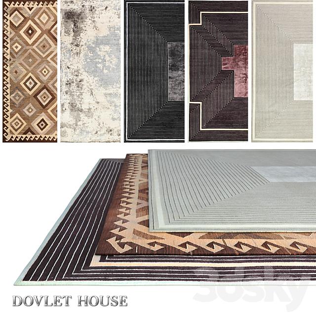 Carpets DOVLET HOUSE 5 pieces (part 510)