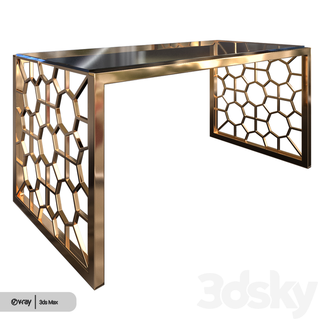 3d Models Table Juliette Sled Coffee Table