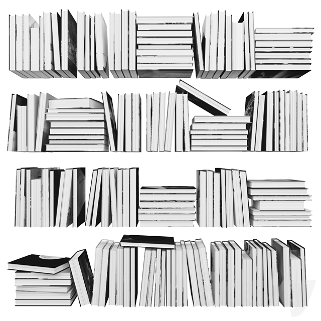 Books (150 pieces) 3-7-3-3