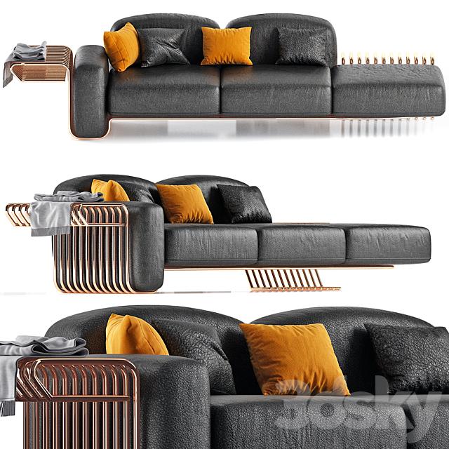 La Sofa by Atelier D'Amis