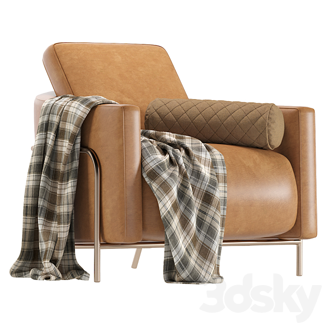 Armchair Formitalia GIULIA Leather