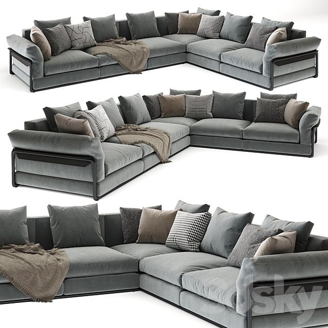 Flexform sofa Zeno 3