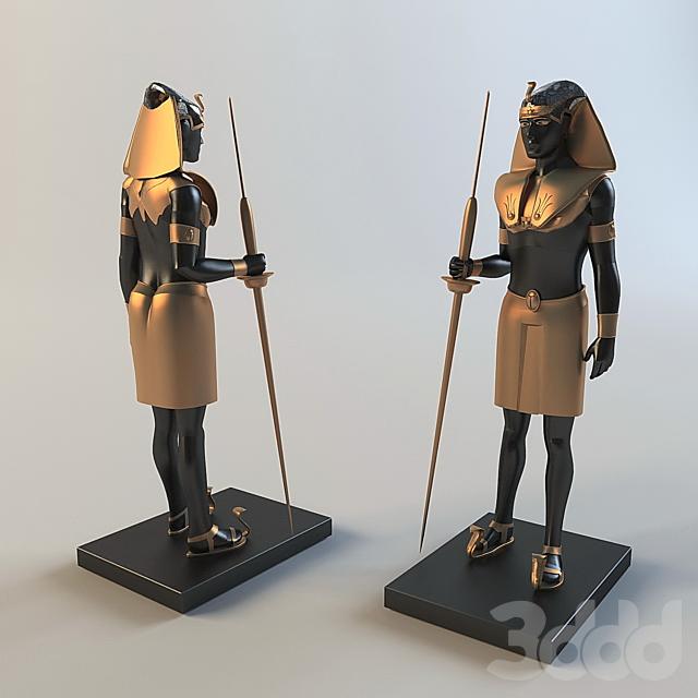 Статуэтка египетянина