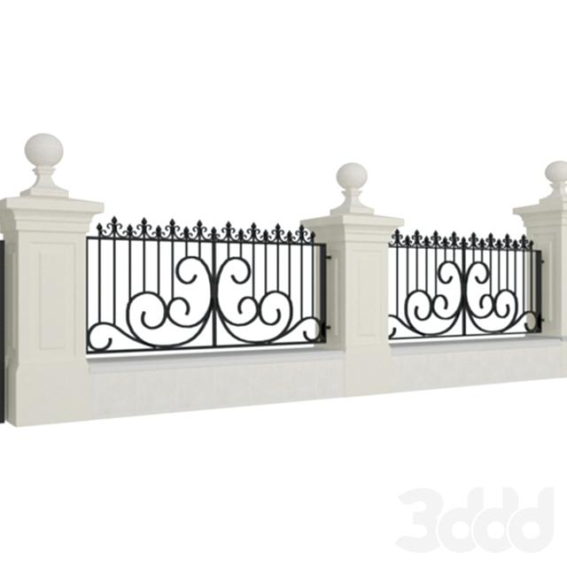 забор (ковка)