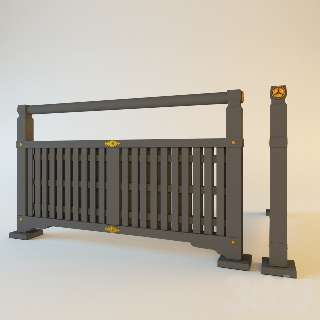 Японский забор