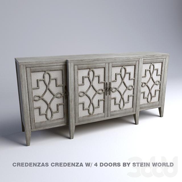 Credenzas Credenza w/ 4 Doors by Stein World
