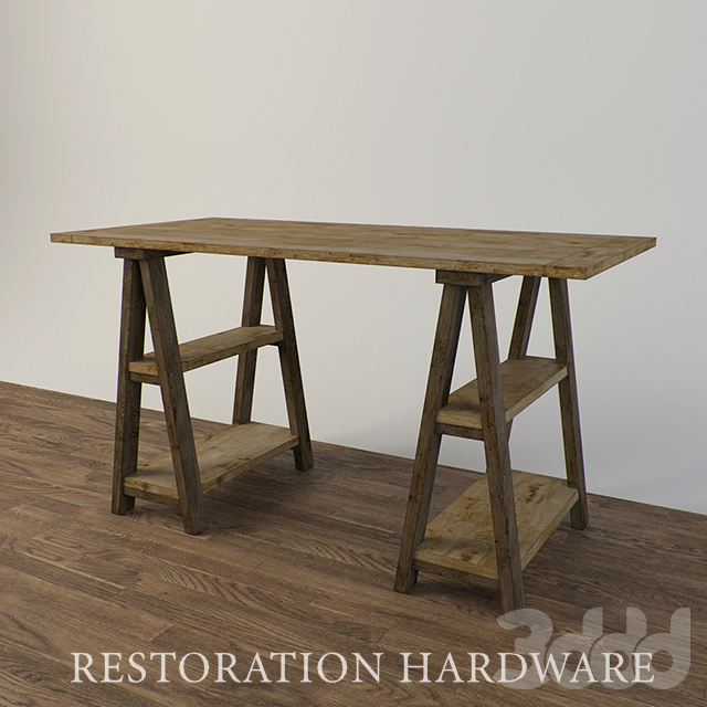Restoration Hardware - Sawhorse Trestle Desk