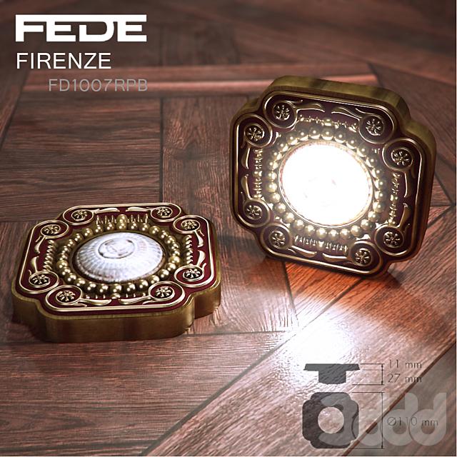 FEDE Firenze FD1007RPB встраиваемый светильник