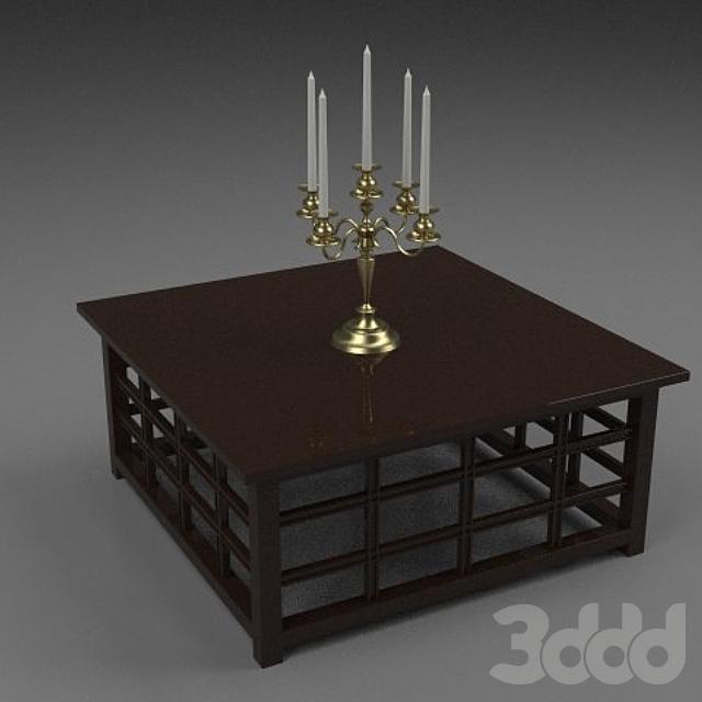 столик 90х90х40см