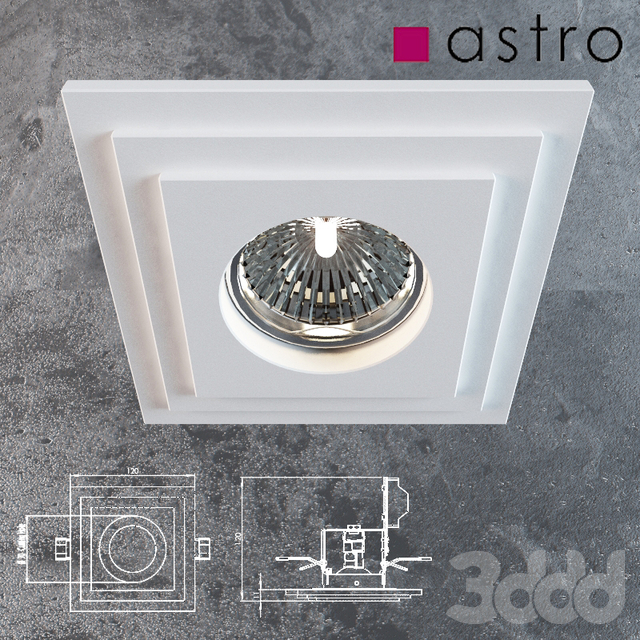 Astro 5584 Brembo Square