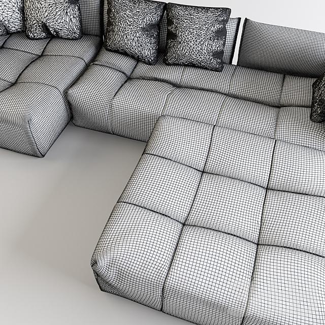Модульный диван Saba Pixel