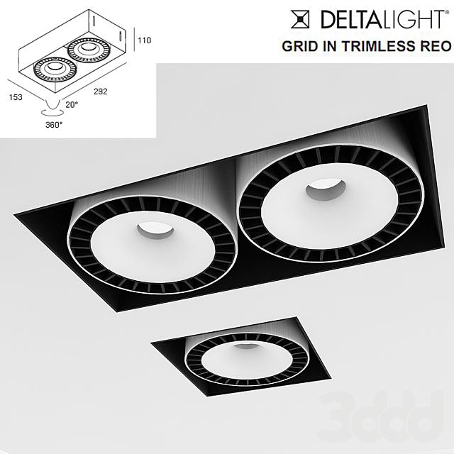 встраиваемый светильник deltalight