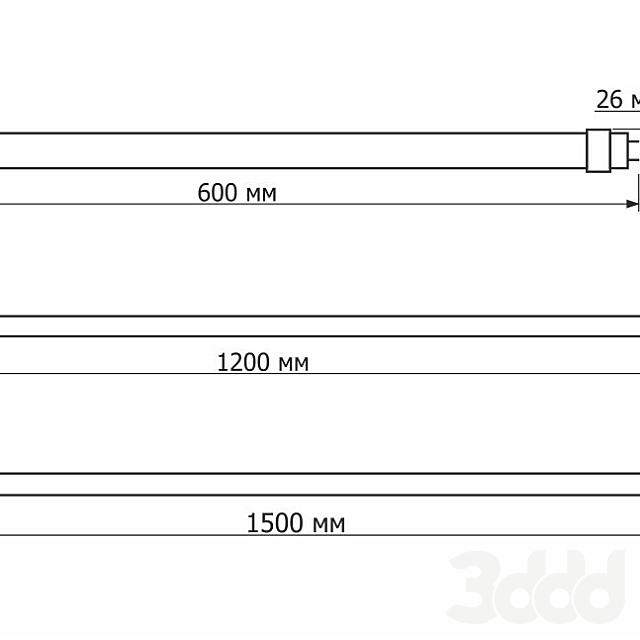 Светодиодные лампы СДЛ-Т8 с цоколем G13
