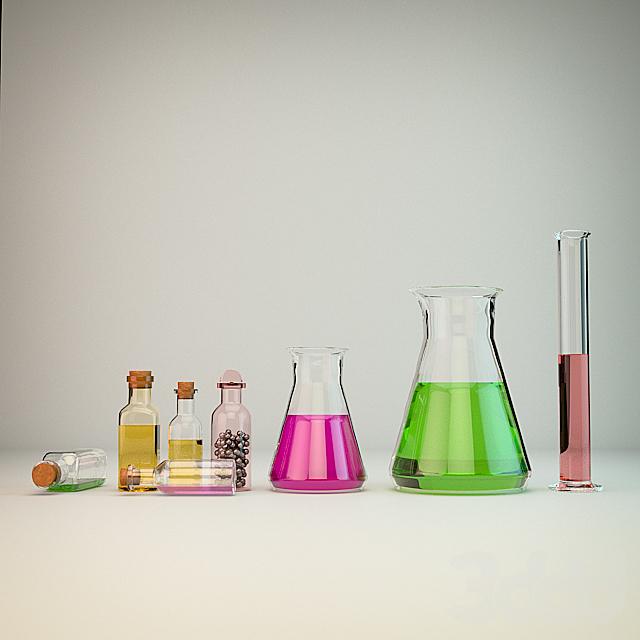 Лабораторные колбы
