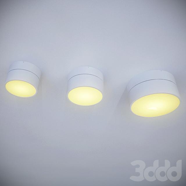 Серия накладных светильников MOON